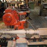 Fluting on Lathe