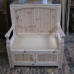 Pine seat
